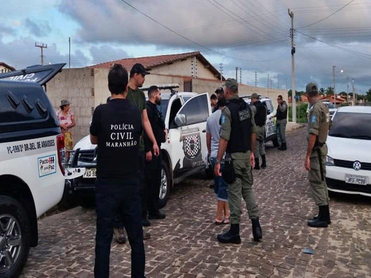 Gênese: Polícia prende homens por tráfico de drogas e homicídio, em Parnaíba