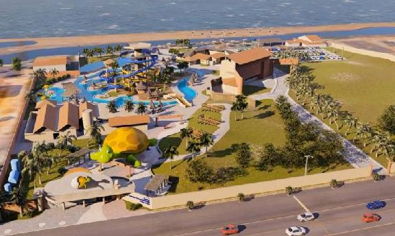 Sesc Praia terá maior parque aquático do Piauí