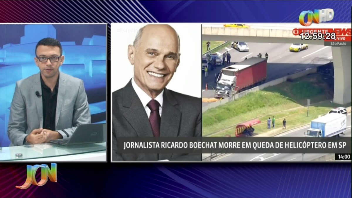 TV Costa Norte lamenta morte do colega Ricardo Boechat